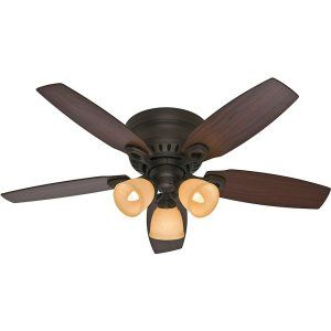 Hunter HUF 52086 Hatherton Traditional Ceiling Fan with light