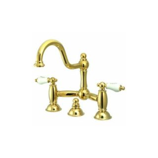 Elements of Design ES3912PL Chicago Two Handle Lavatory Faucet