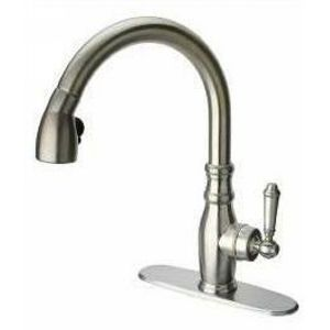 LaToscana USCR591ANT Kitchen Faucets Single Handle Kitchen Faucet With Pull down