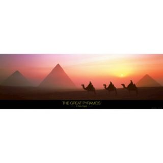 Art   The Great Pyramids of Giza, Egypt Art Print