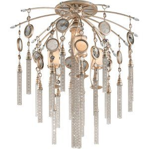 Corbett Lighting COR 162 37 Bliss 3+1 Light Ceiling Semi Flush