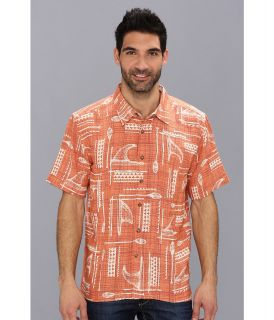 Quiksilver Waterman Hapuna Bay S/S Shirt Mens Short Sleeve Button Up (Multi)