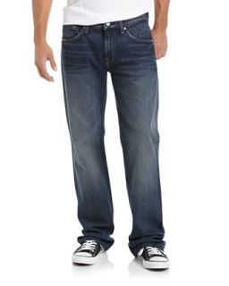 Boot Cut Jeans, Deep Blue