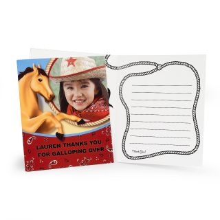 Horse Power Personalized Thank You Notes