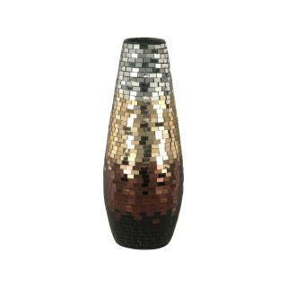Dale Tiffany Copper Gold Grand Vase