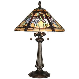 Dale Tiffany Floral Branch Table Lamp