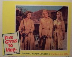 Five Gates to Hell (Original Lobby Card   #3) Movie Poster