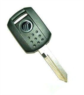 2000 Mercury Mountaineer transponder key blank from 07/00