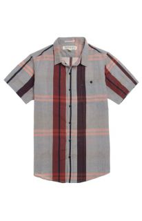 Mens Ezekiel Shirts   Ezekiel Shadows Short Sleeve Woven Shirt