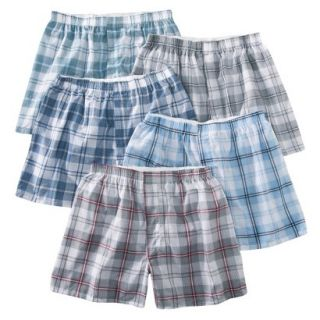 Fruit of the Loom Mens Boxers 5 Pack   Heather XL