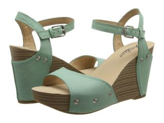 Lucky Brand Marshaa Womens Wedge Shoes (Green)
