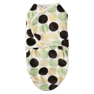 Bonkie for Baby Swaddle Blanket Yellow Dot