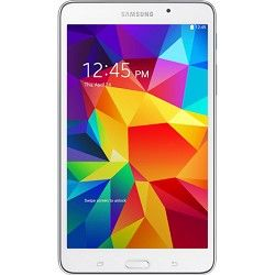 Samsung Galaxy Tab 4 White 8GB 7 Tablet   1.2 GHz Quad Core Proc., Android 4.4,