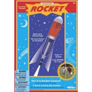 Alex Brands Scientific Explorer 0SA200BL Meteor Rocket Science Kit