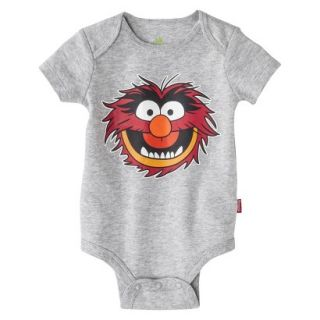 Disney Newborn Boys Animal Bodysuit   Grey 6 9 M