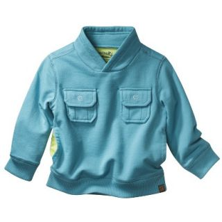 Genuine Kids from OshKosh Infant Toddler Boys Sweatshirt   Teal 2T