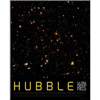 Art   Hubble Ultra Deep Field Mounted Print