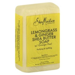 SheaMoisture Lemongrass & Ginger Shea Butter Soap   8 oz
