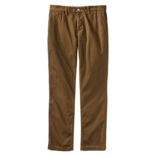 Mossimo Supply Co. Mens Slim Fit Chino Pants   Gilded Brown 36x34