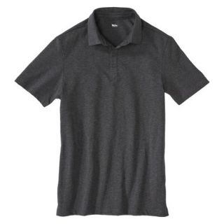 Mens Slim Fit Polo Shirts Sleek Gray grey S