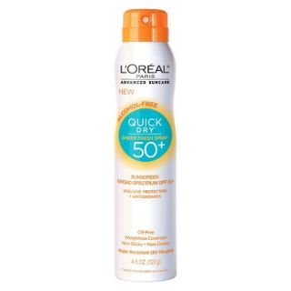Advanced Suncare Quick Dry Sheer Finish Spray SPF 50+
