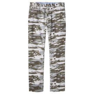 Mossimo Supply Co. Mens Slim Fit Chino Pants   Mesa Gray Camouflage 30x30