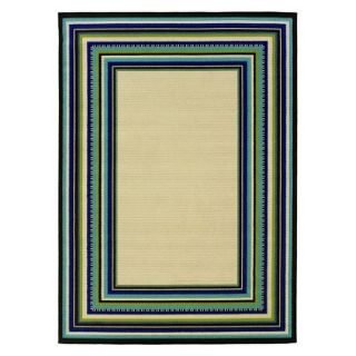 Caspian Roxy Area Rug   Cream (5.3x7.6)