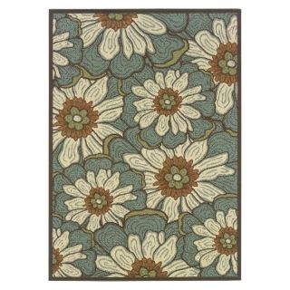 Poppy Indoor/Outdoor Accent Rug   Green (37x56)
