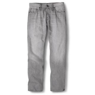 Mossimo Supply Co. Mens Slim Straight Fit Jeans   Gray 28X30