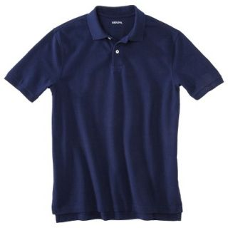 Mens Classic Fit Polo Shirt Navy Blue Vyg XLT