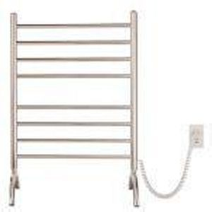 Myson FPRL08B Brushed Stainless Gem Series Stainless Steel Electric Towel Warmer