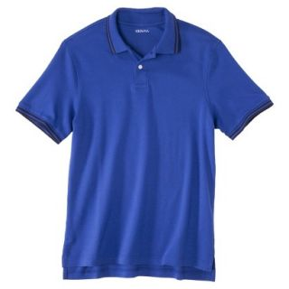 Mens Classic Fit Polo Shirt BLUE STREAK S