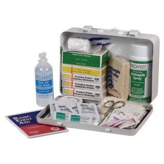 Medique Standard Vehicle First Aid Kit, Model 818M1