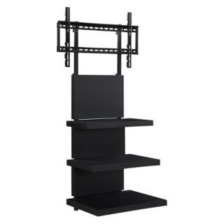Flat Panel Tv Stand Hollow Core AltraMount Wall Mount   Black