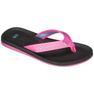 Girls C9 by Champion Hydee Flip Flop Sandals   Black/Pink L