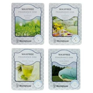 Wax Free Fragrance Disks 4 pack Assortment Set   Fresh Scents