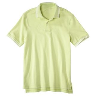Mens Classic Fit Polo Shirt luminary yellow green L