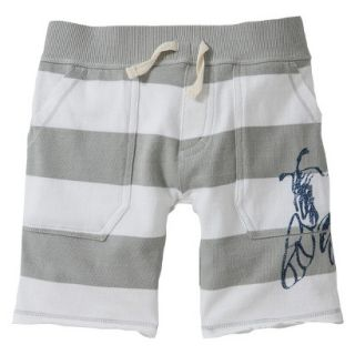 Burts Bees Baby Toddler Boys Rugby Short   Bee Fog 4T
