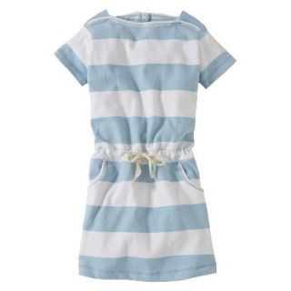 Burts Bees Baby Toddler Girls Boatneck Dress   Fog 2T