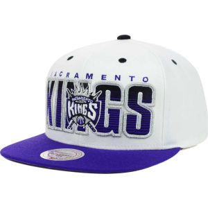 Sacramento Kings Mitchell and Ness NBA Home Stand Snapback Cap