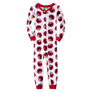 Sesame Street Elmo Infant Toddler Boys Long Sleeve Footed Blanket Sleeper