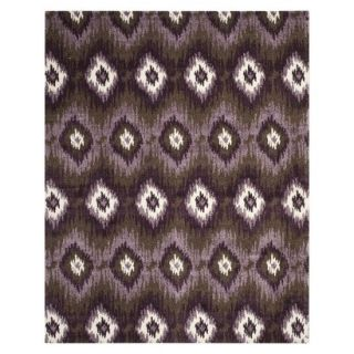 Safavieh Samira Area Rug   Dark Brown/Eggplant (8x10)