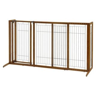 Richell Freestanding Deluxe Pet Gate with Door   Large