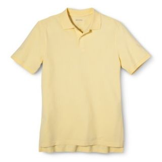 Mens Classic Fit Polo Shirt Popcorn Yellow XL