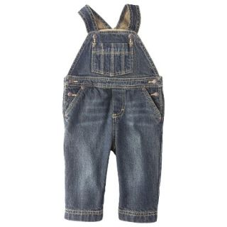 Genuine Kids from OshKosh Newborn Boys Denim Overall   Blue NB