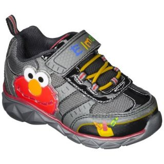 Toddler Boys Sesame Street Elmo Sneakers   Black 5