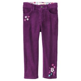 Genuine Kids from OshKosh Infant Toddler Girls Corduroy Pant   Soho Grape 18 M