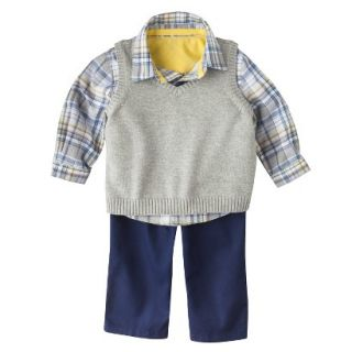 Genuine Kids from OshKosh Newborn Boys Top and Bottom Set   Navy Voyage 18 M