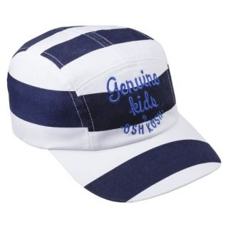 Genuine Kids from OshKosh Infant Toddler Boys Striped Baseball Hat   Blue 12