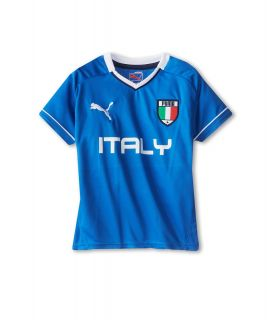 Puma Kids Italy Tee Boys T Shirt (Blue)